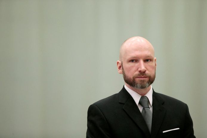 Anders Behring Breivik, en 2017