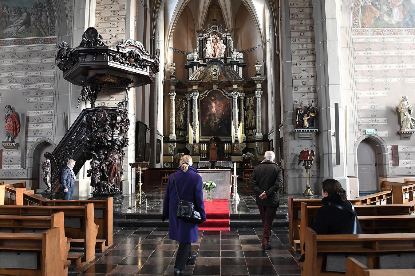 De Sint-Elisabethkerk tijdens de Open Kerkendag.
