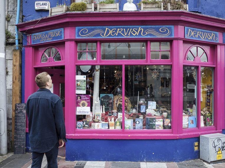 De knalroze winkel Dervish. Beeld Dim Balsem