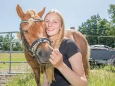 'Tijdens het paardrijden, kan ik mijn hoofd leegmaken'