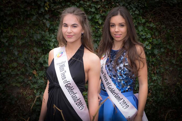 Links: Dewi van der Veen en rechts Constance Kersjes.