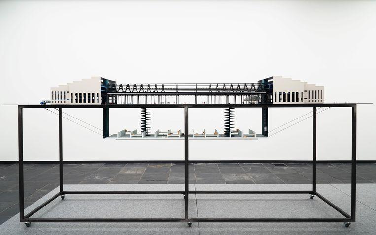Maquette uit de expo 'Le Museé et son Double'. Beeld Dirk Pauwels