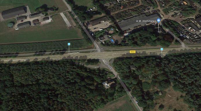 Vanuit de Rijksweg in noordelijke richting de Palmstraat inschieten is er straks niet meer bij voor sluipverkeer.