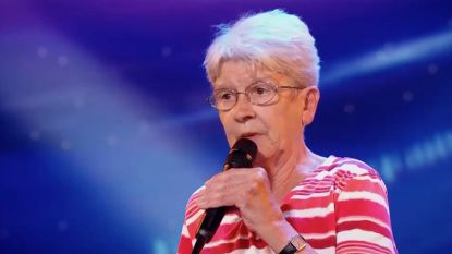 Geweldig: rappende oma verbaast in 'Belgium's Got Talent'