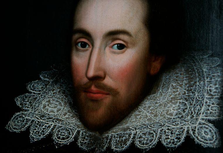 Toneelschrijver, dichter en auteur William Shakespeare (1564-1616), niet de William Shakespeare die vorige week overleed aan een beroerte. Beeld AP