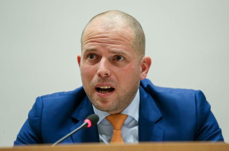 Theo Francken droomt ervan om na zijn politieke carrière een school op te richten. Beeld EPA