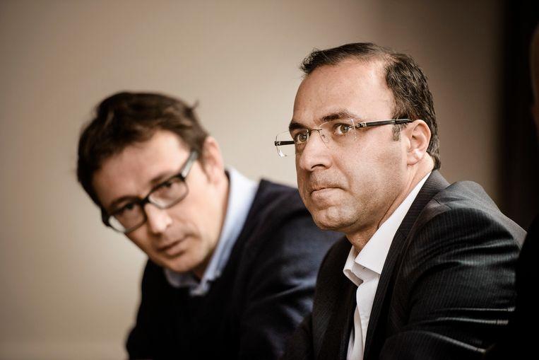 Veli Yüksel (rechts). Beeld Eric de Mildt