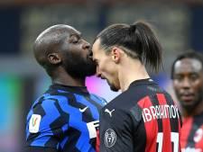 Lukaku sneert naar Zlatan na titel met Inter: 'En nu buigen voor de koning van Milaan'