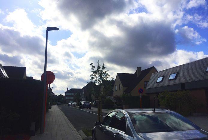 De Pater Damiaanstraat in Diegem.