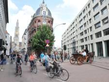 Fietsers en voetgangers zondag de baas tijdens 'Antwerpen Shift'