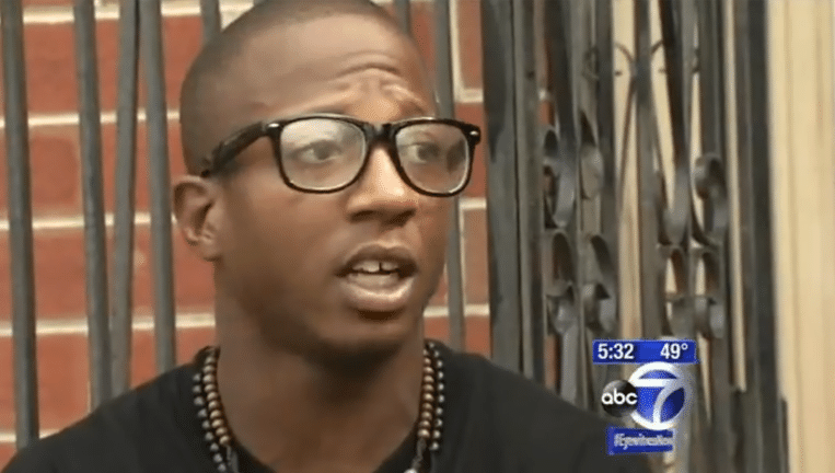 Kalief Browder in een interview met ABC News in november 2013. Beeld YouTube