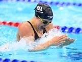 Fanny Lecluyse termine huitième de la finale du 200 m brasse, record du monde pour Tatiana Schoenmaker