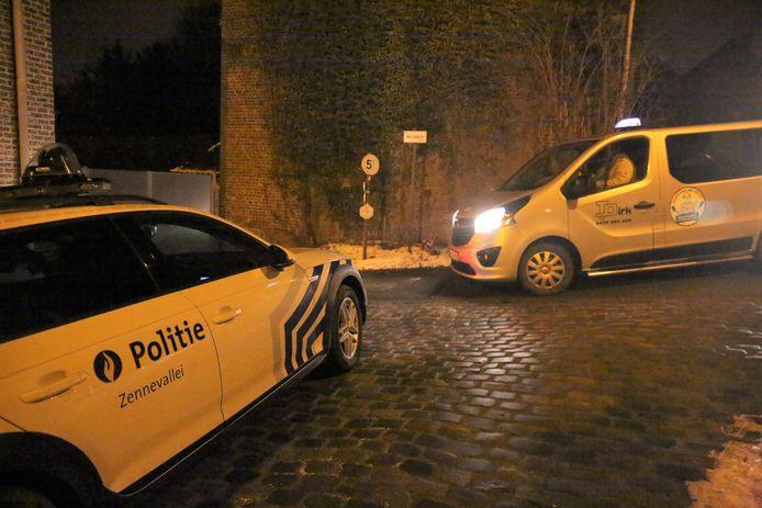 De politie hield de taxichauffeurs in de gaten en bemiddelde, maar zal geen proces-verbaal opstellen.