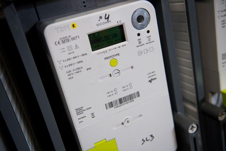 De digitale energiemeter  Beeld BELGA