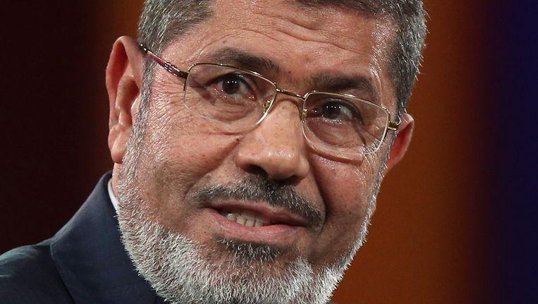 Oud-president van Egypte, Mohamed Morsi. Beeld getty
