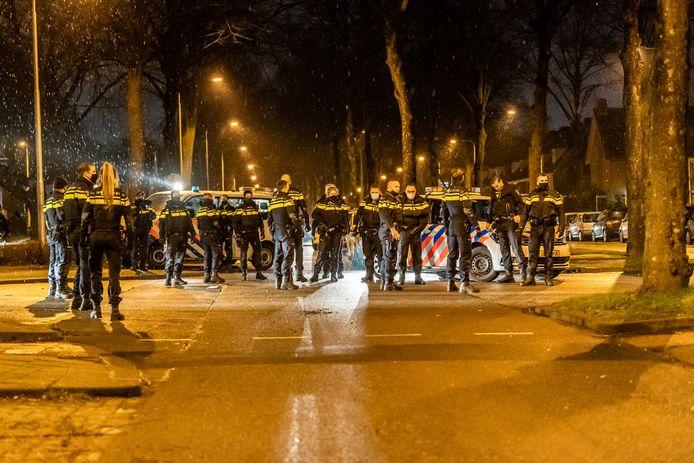 Rellen in Tilburg op zondagavond
