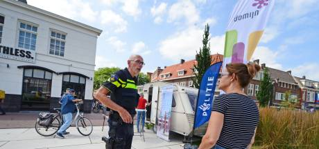 Een caravan in de strijd tegen drugsoverlast in Enschede: 'Dacht dat het wildkampeerders waren'