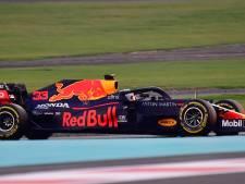 Verstappen maakt eerste meters in nieuwe auto RB16B: 'Geeft een geweldig gevoel'