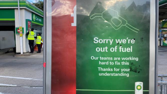 Brits leger stand-by om brandstofcrisis op te vangen
