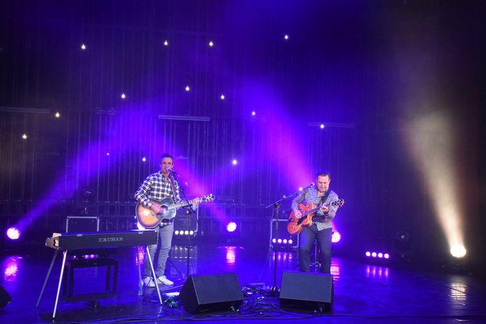 Zanger Wim Soutaer speelde een thuiswedstrijd tijdens de laatste Meent-sessie in Beersel.