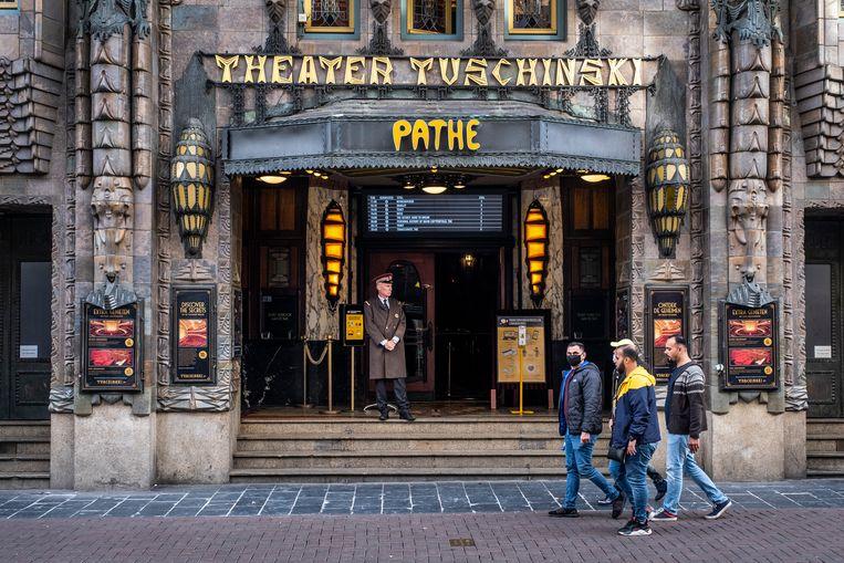 Theather Pathé Tuschinski in Amsterdam. Beeld ANP