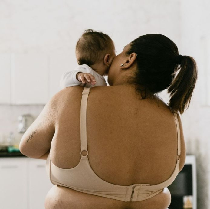 Illustration de la campagne Embodied : Postpartum Unfiltered.