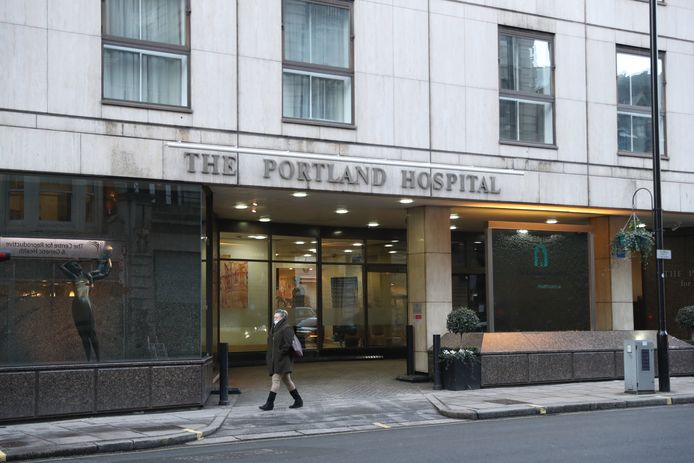 Portland Hospital in London