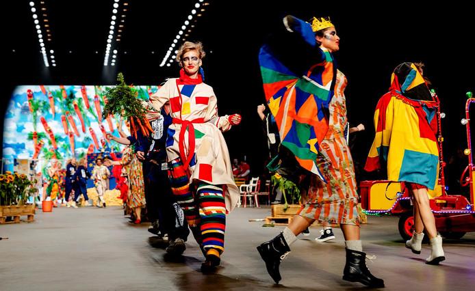 De Amsterdam Fashion Week - hier nog in juli 2017 - wordt voortaan in februari en september georganiseerd.
