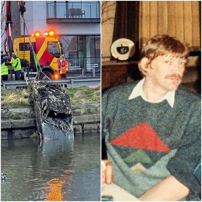 Ronny Lateste werd teruggevonden in zijn wagen op de bodem van de Damse Vaart.