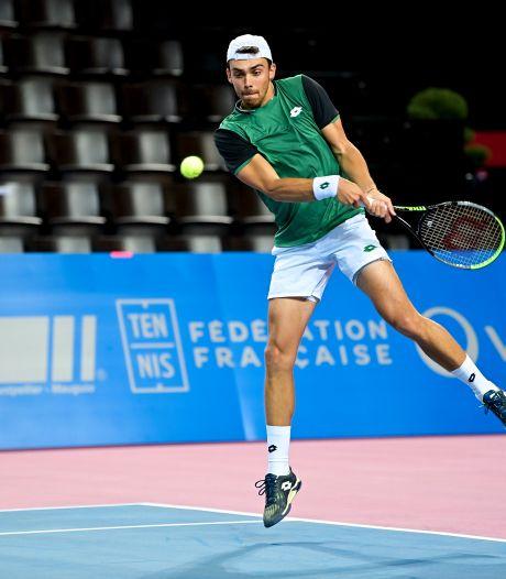 Benjamin Bonzi, premier adversaire de David Goffin à Montpellier
