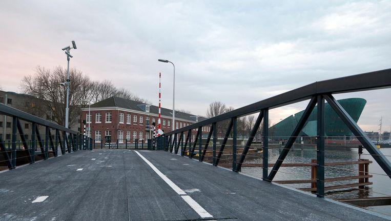 Het voormalige Marineterrein op Kattenburg moet een uitvalsbasis voor virtual realitybedrijven worden. Beeld Roï Shiratski