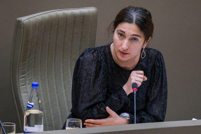 Vlaams minister van Energie Zuhal Demir. Beeld BELGA