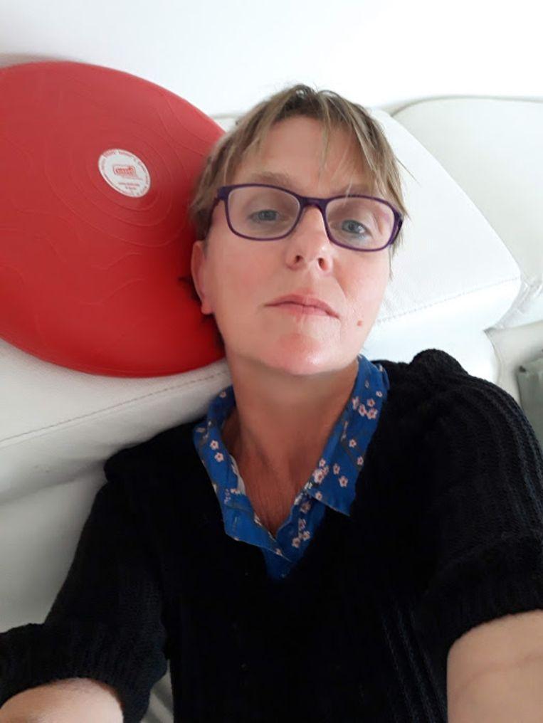Katrien Jacobs: 'Politiek speelt zich op verschillende domeinen af, en de lichaamscultuur is er daar een van.' Beeld RV