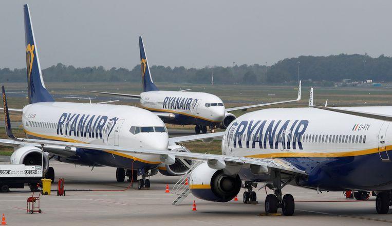 Morgen, donderdag en zondag plant het Spaanse cabinepersoneel van Ryanair stakingen. Illustratiebeeld.