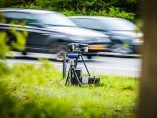 Honderden boetes bij radarcontrole in Putten: snelste raast met bloedgang over 60-kilometerweg