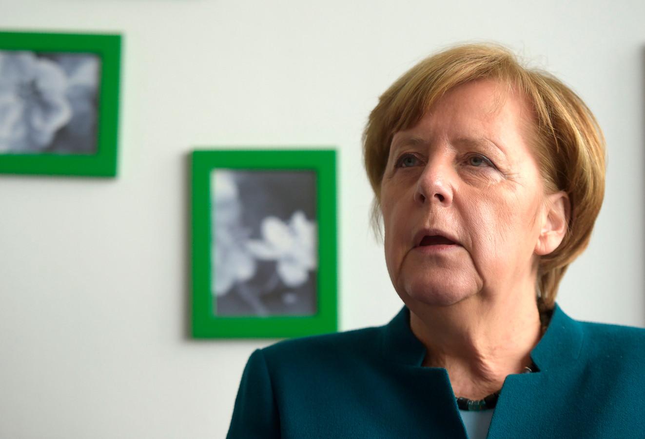 Merkel, vandaag op werkbezoek in Bremerhaven