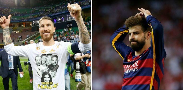 Op clubniveau zijn Ramos en Piqué de grootste rivalen, bij de nationale ploegen vormen ze samen het hart van de defensie