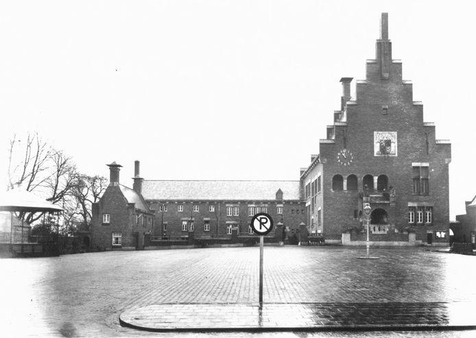 De kiosk stond in het verleden bij het Raadhuisplein in Waalwijk.