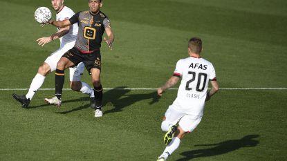 KV Mechelen in de gietende regen de mist in tegen wervelend AZ
