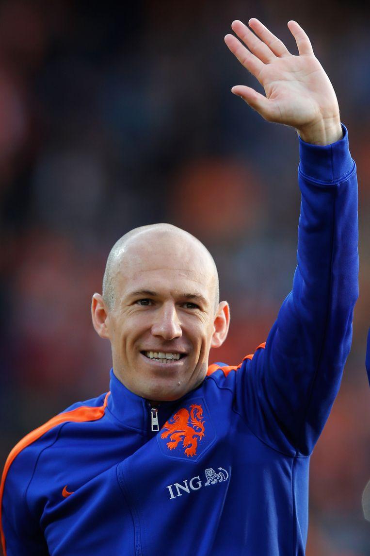 Arjen Robben. Beeld GETTY