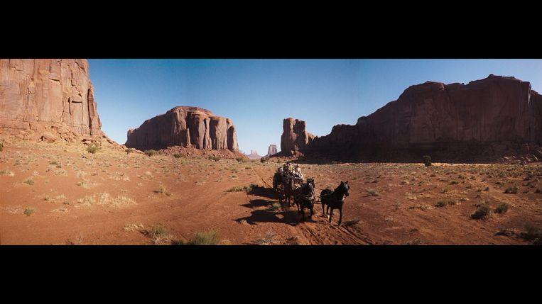 Beeld uit 'How the West Was Won'. Beeld