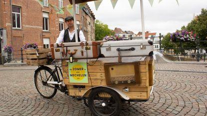 """Muzikale bakfiets rijdt deze zomer door Mechelen: """"Intieme concerten naar de Mechelaar brengen"""""""