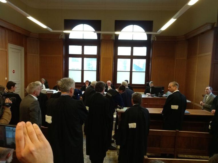 De inleidingszitting in het Gentse hof van beroep.