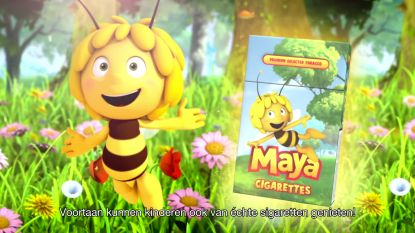 """Tabaksindustrie vindt Greenpeace-campagne met Maya de Bij niet kunnen: """"Niet verstandig"""""""