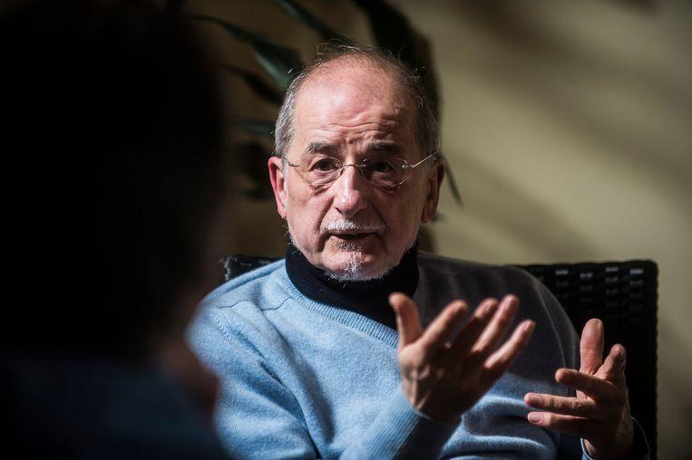 Johan Leman, oud-directeur van het Centrum voor gelijkheid van kansen en racismebestrijding. Beeld Karel Duerinckx