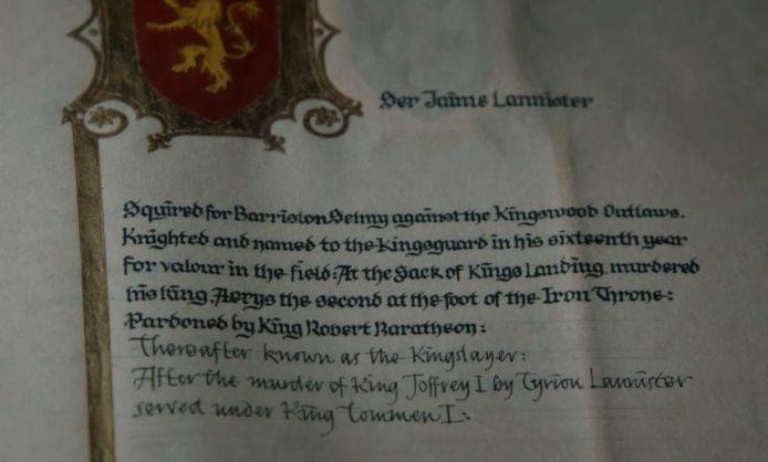 Het verhaal van Jaime wordt aangevuld.