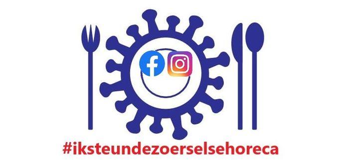 De partij h-EERLIJK ZOERSEL lanceert de hashtag #iksteundezoerselsehoreca