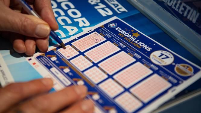 Recordjackpot Euromillions van 210 miljoen euro gaat naar één gelukkige