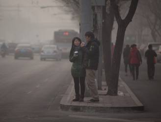 Luchtvervuiling Peking stijgt tot onmeetbare hoogten
