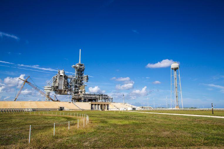 Het lanceerplatform A in het Kennedy Space Center. Beeld Dieter Moeyaert